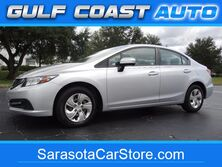 Honda Civic Sedan LX! 1-OWNER!HONDA POWER TRAIN WARRANTY! FL CAR! ONLY 29K MI! SERVICED! CLEAN! SHARP! LOOK! 2014