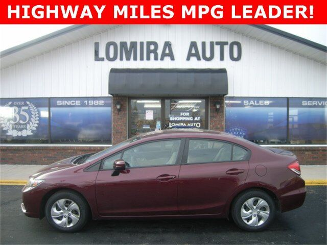 2014 Honda Civic Sedan LX Lomira WI