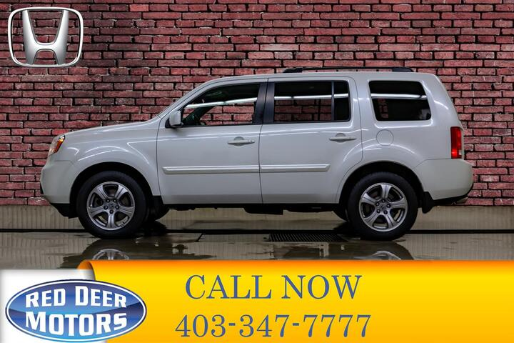 2014 Honda Pilot AWD EX-L 3rd Row Leather Roof Red Deer AB