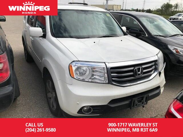 2014 Honda Pilot Touring/One Owner/Accident Free/Fully Loaded Winnipeg MB  ...