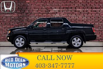 2014_Honda_Ridgeline_4x4 Crew Cab Touring Leather Roof Nav_ Red Deer AB