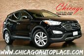 2014 Hyundai Santa Fe Sport 2.0L TURBO-GDI I4 ENGINE 1 OWNER ALL WHEEL DRIVE NAVIGATION BACKUP CAMERA KEYLESS GO PANO ROOF BLACK LEATHER HEATED/COOLED SEATS