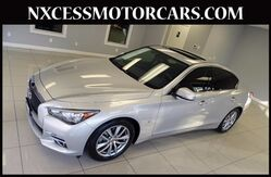 2014_INFINITI_Q50_HEATED SEATS NAVIGATION 1-OWNER._ Houston TX