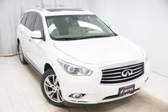 2014_INFINITI_QX60_AWD Touring Technology Navigation Entertainment Blind spot Luggage Rack Cooled Front Seats Drivers Assist Heated Rear Seats Lane departure Adaptive cruise control 360 Camera_ Avenel NJ