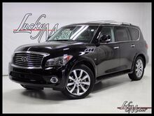 2014_INFINITI_QX80_1 Owner Deluxe Touring Pkg Tech Pkg Rear TV's_ Villa Park IL