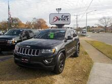 2014_JEEP_GRAND CHEROKEE_LAREDO 4X4, BUY BACK GUARANTEE AND WARRANTY, CD PLAYER, SIRIUS, BLUETOOTH, ROOF RACKS, 96K MILES!_ Virginia Beach VA