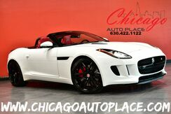2014_Jaguar_F-TYPE_MSRP-$105000-S Convertible - 5.0L SUPERCHARGED V8 ENGINE RED LEATHER NAVIGATION BACKUP CAMERA KEYLESS GO MERIDIAN AUDIO XENONS_ Bensenville IL
