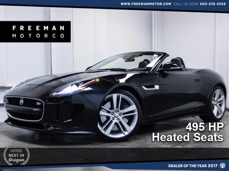 2014_Jaguar_F-TYPE_V8 S Heated Seats 495HP 21K_ Portland OR