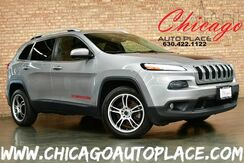 2014_Jeep_Cherokee_Latitude - 2.4L I4 MULTIAIR ENGINE FRONT WHEEL DRIVE 2-TONE BLACK/GRAY CLOTH INTERIOR SUNROOF BLUETOOTH CLIMATE CONTROL_ Bensenville IL