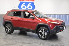 2014_Jeep_Cherokee_TRAIL HAWK PACKAGE! 4WD!! LEATHER LOADED! NAVIGATION!! LIKE NEW!!! LOW MILES!!_ Norman OK