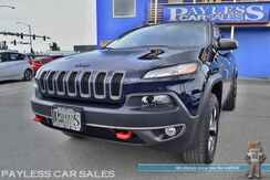 2014_Jeep_Cherokee_Trailhawk / 4WD / Automatic / Navigation / Uconnect Bluetooth / Cruise Control / Luggage Rack / 25 MPG_ Anchorage AK