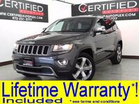 Jeep Grand Cherokee LIMITED 4WD NAVIGATION SUNROOF LEATHER HEATED SEATS REAR PARKING AID 2014
