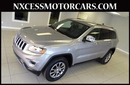 Jeep Grand Cherokee Limited 4x4 FRONT/REAR HEATED SEATS 2014