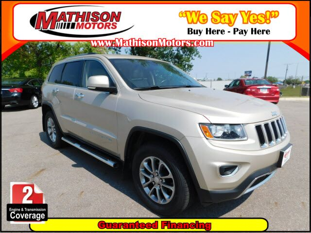 2014 Jeep Grand Cherokee Limited Clearwater MN ...