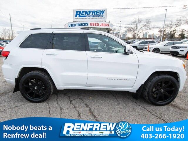 2014 Jeep Grand Cherokee Overland, Panoramic Sunroof, Remote Start,  Navigation, Heated Leather ...