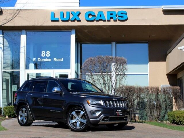 2014_Jeep_Grand Cherokee_Overland Panoroof Nav V8 4WD MSRP $53,175_ Buffalo Grove IL