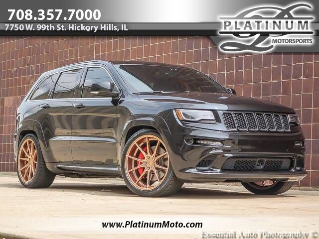 2014 Jeep Grand Cherokee SRT8 Borla Exhaust Upgraded Wheels Tints Hickory Hills IL