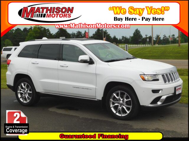 2014 Jeep Grand Cherokee Summit Clearwater MN ...
