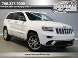 2014 Jeep Grand Cherokee Summit MSRP $52,190 2 Owner Pano Nav Wood Led's Loaded