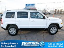 2014_Jeep_Patriot_4WD North, Air Conditioning, Power Windows/Locks, Heated Mirrors_ Calgary AB