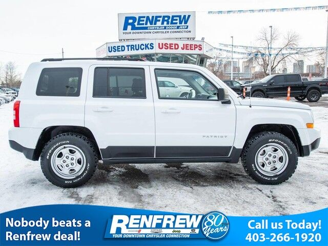 2014 Jeep Patriot Sport, Auto, Air Conditioning, Remote Start Calgary AB