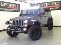 Jeep Wrangler LIFT PACKAGE UNLIMITED SPORT 4WD CONVERTIBLE HARDTOP FRONT TOW HOOKS CRUISE 2014