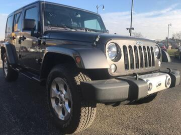 2014 Jeep Wrangler Unlimited 4WD 4dr Altitude Michigan MI