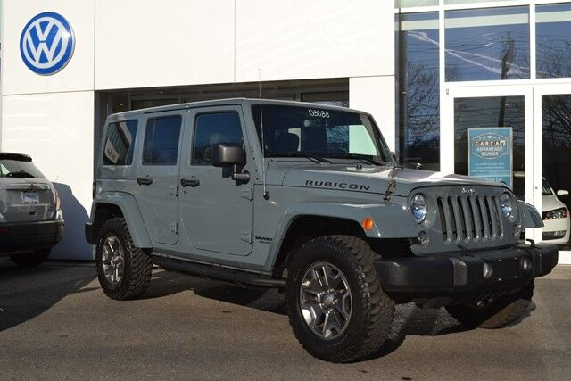 2014 Jeep Wrangler Unlimited Hard/Soft Top Rubicon White Plains NY