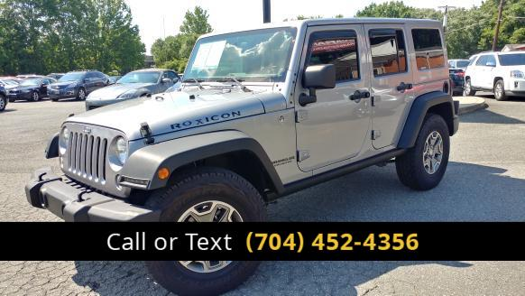 2014 Jeep Wrangler Unlimited Rubicon 4WD Charlotte and Monroe NC