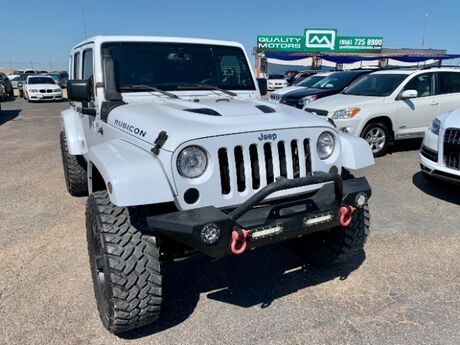 2014 Jeep Wrangler Unlimited Rubicon 4WD Laredo TX