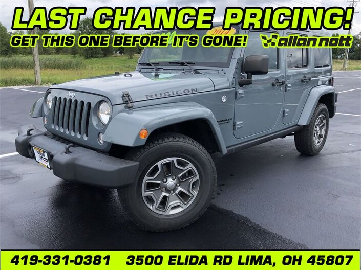 2014 Jeep Wrangler Unlimited Rubicon Lima OH