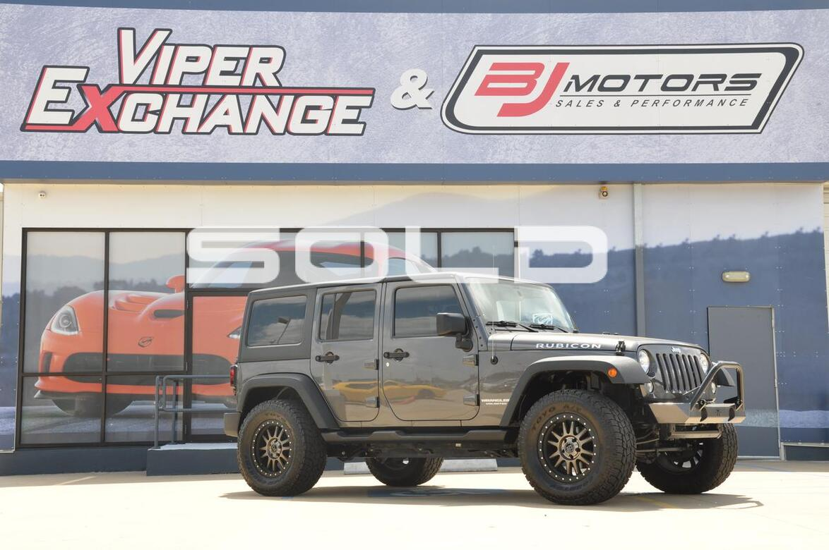 2014 Jeep Wrangler Unlimited Rubicon Tomball TX ...