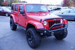 2014_Jeep_Wrangler Unlimited_Sahara 4WD Navigation Hard Top Running Boards Leather Tow Hitch_ Avenel NJ