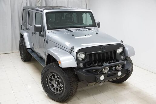 2014 Jeep Wrangler Unlimited Sahara 4WD Navigation Hard Top Running Boards Tow Hitch Avenel NJ