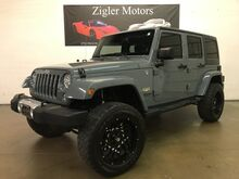 2014_Jeep_Wrangler Unlimited_Sahara CLEAN CARFAX, Lift, Wheels_ Addison TX