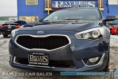 2014_Kia_Cadenza_Premium / 3.3L V6 / Automatic / Power & Heated Leather Seats / Navigation / Infinity Speakers / Bluetooth / Back Up Camera / Tow Hitch_ Anchorage AK