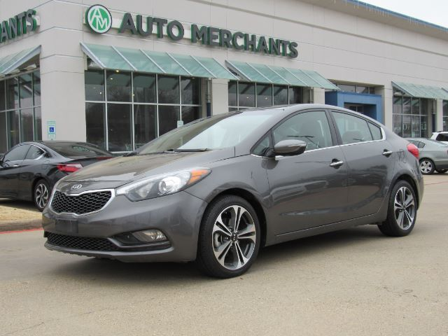 2014 Kia Forte Ex Sunroof Leather Sat Radio Htd Sts