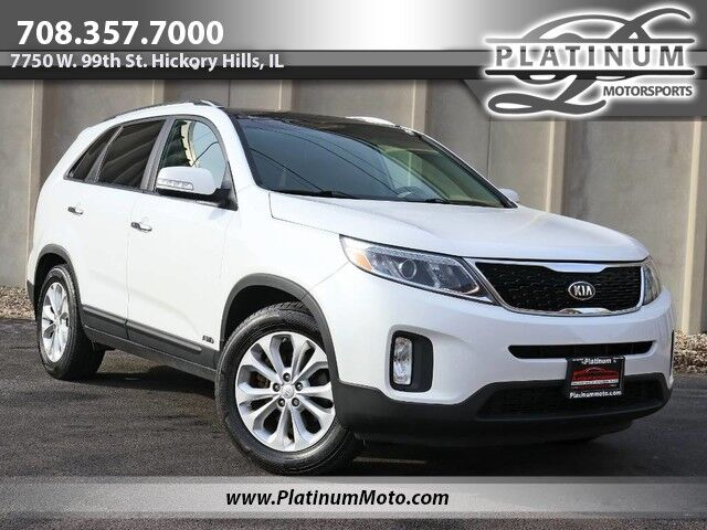 2014 Kia Sorento EX AWD Touring Pkg 2 Owner 3rd Row Pano Nav Leather Loaded Hickory Hills IL