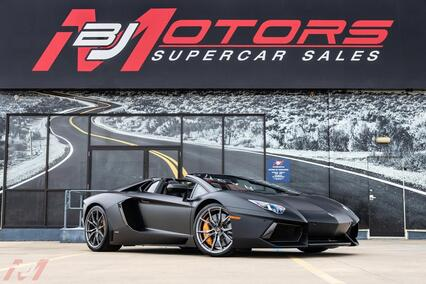 2014 Lamborghini Aventador LP 700-4 Roadster Tomball TX