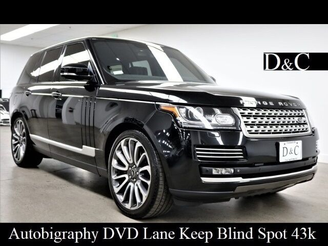 2014 Land Rover Range Rover 5.0L V8 Supercharged Autobiography Portland OR