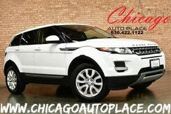 2014_Land Rover_Range Rover Evoque_Pure - 2.0L 4-CYL ENGINE 4 WHEEL DRIVE BLACK LEATHER HEATED SEATS BACKUP CAMERA TERRAIN RESPONSE SYSTEM_ Bensenville IL