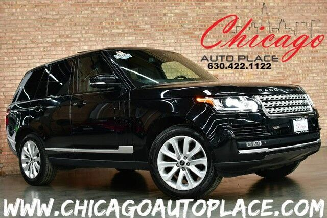 2014 Land Rover Range Rover HSE - ORIGINAL MSRP: $94,080 4WD NAVIGATION VISION ASSIST PACKAGE FRONT CLIMATE COMFORT + MASSAGE SEATS PANO ROOF KEYLESS GO EBONY HEADLINER Bensenville IL