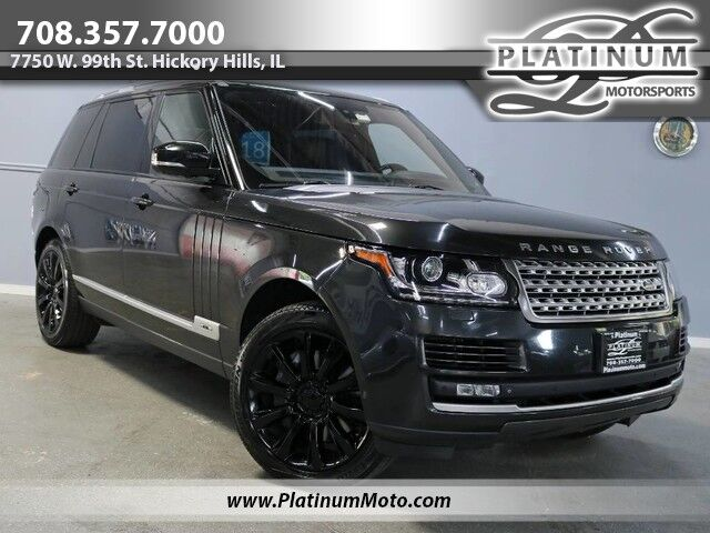2014 Land Rover Range Rover SC LWB MSRP $122,420 Loaded Tv's Pano 2 Keys Loaded Hickory Hills IL