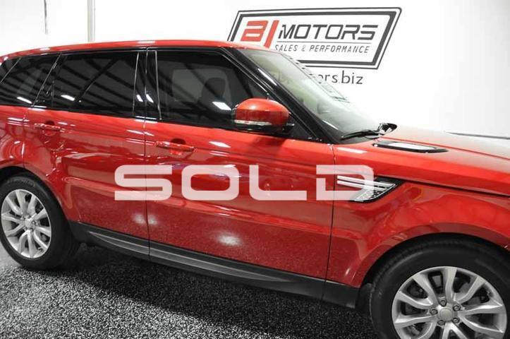 2014 Land Rover Range Rover Sport HSE Tomball TX