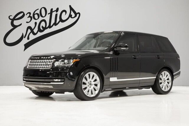2014 Land Rover Range Rover Supercharged Austin TX