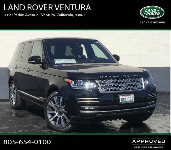 2015 Land Rover Range Rover Sport Supercharged Ventura Ca: 2014 Land Rover Range Rover Supercharged Autobiography