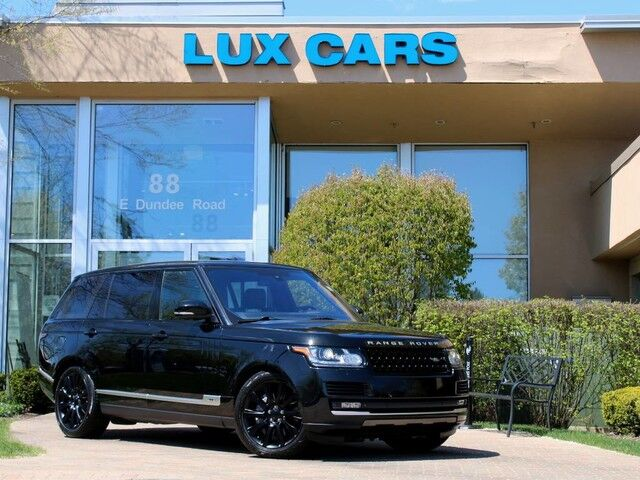 2014_Land Rover_Range Rover_Supercharged Long Panoroof Nav 4WD MSRP $117,205_ Buffalo Grove IL