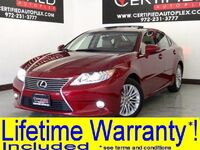 Lexus ES 350 NAVIGATION BLIND SPOT MONITORING SUNROOF LEATHER HEATED/COOLED SEATS REAR C 2014