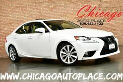 2014_Lexus_IS 250_2.5L V6 VVT-I ENGINE REAR WHEEL DRIVE PREMIUM PACKAGE BACKUP CAMERA GRAY LEATHER HEATED/VENTILATED SEATS KEYLESS GO SUNROOF XENONS BLUETOOTH_ Bensenville IL