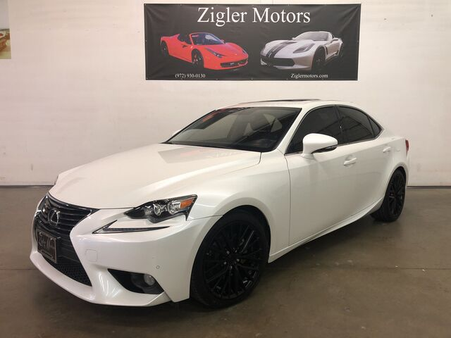 2014 Lexus IS 250 Luxury Package Low miles Clean Carfax, Blind Spot, Park Assist Nice! Addison TX